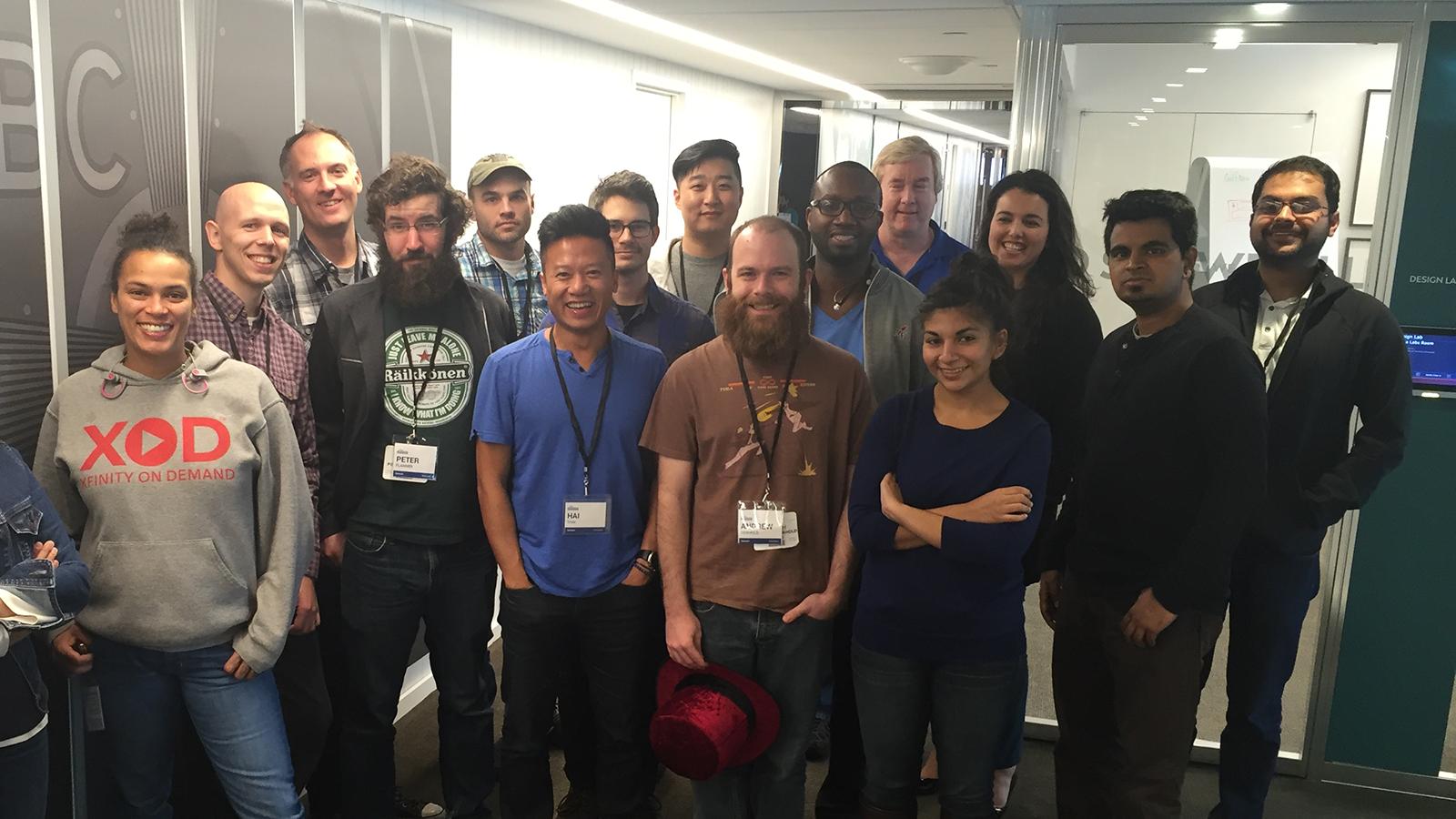 NBCU Hackathon winners