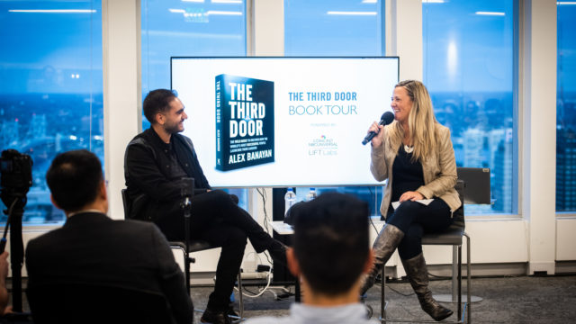 The Making of a Dream Partnership: Comcast NBCUniversal LIFT Labs and 'The Third Door' Book Tour